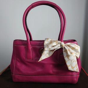 Coach F13675 Hampton Leather Bag *Authentic